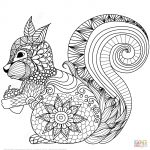 Animal Coloring Pages   Zentangle Animal Coloring Pages At   Free Printable Animal Coloring Pages
