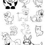 Animals Cut Outs Worksheet   Free Esl Printable Worksheets Made   Free Printable Farm Animal Cutouts