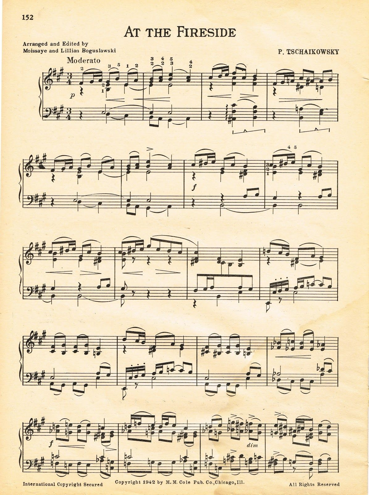Antique Graphics Wednesday – At The Fireside Sheet Music - Christmas Carols Sheet Music Free Printable