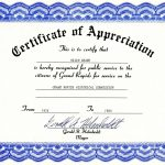 Appreciation Certificate Template Free Download   Tutlin.psstech.co   Free Printable Templates For Certificates Of Recognition