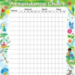 Attendance Chart | Children's Church | Attendance Chart, Sunday   Free Printable Sunday School Attendance Sheet