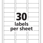 Avery Address Labels 30 Per Page   Tutlin.psstech.co   Free Printable Christmas Address Labels Avery 5160