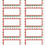 Awesome Free Holiday Return Address Label Template | Best Of Template   Free Printable Return Address Labels