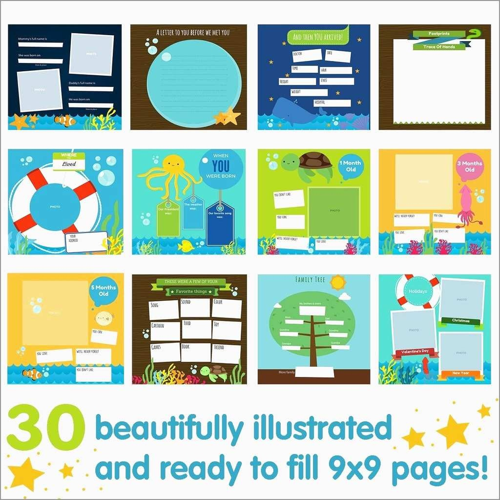 Awesome Free Printable Memory Book Templates | Best Of Template - Free Printable Baby Memory Book
