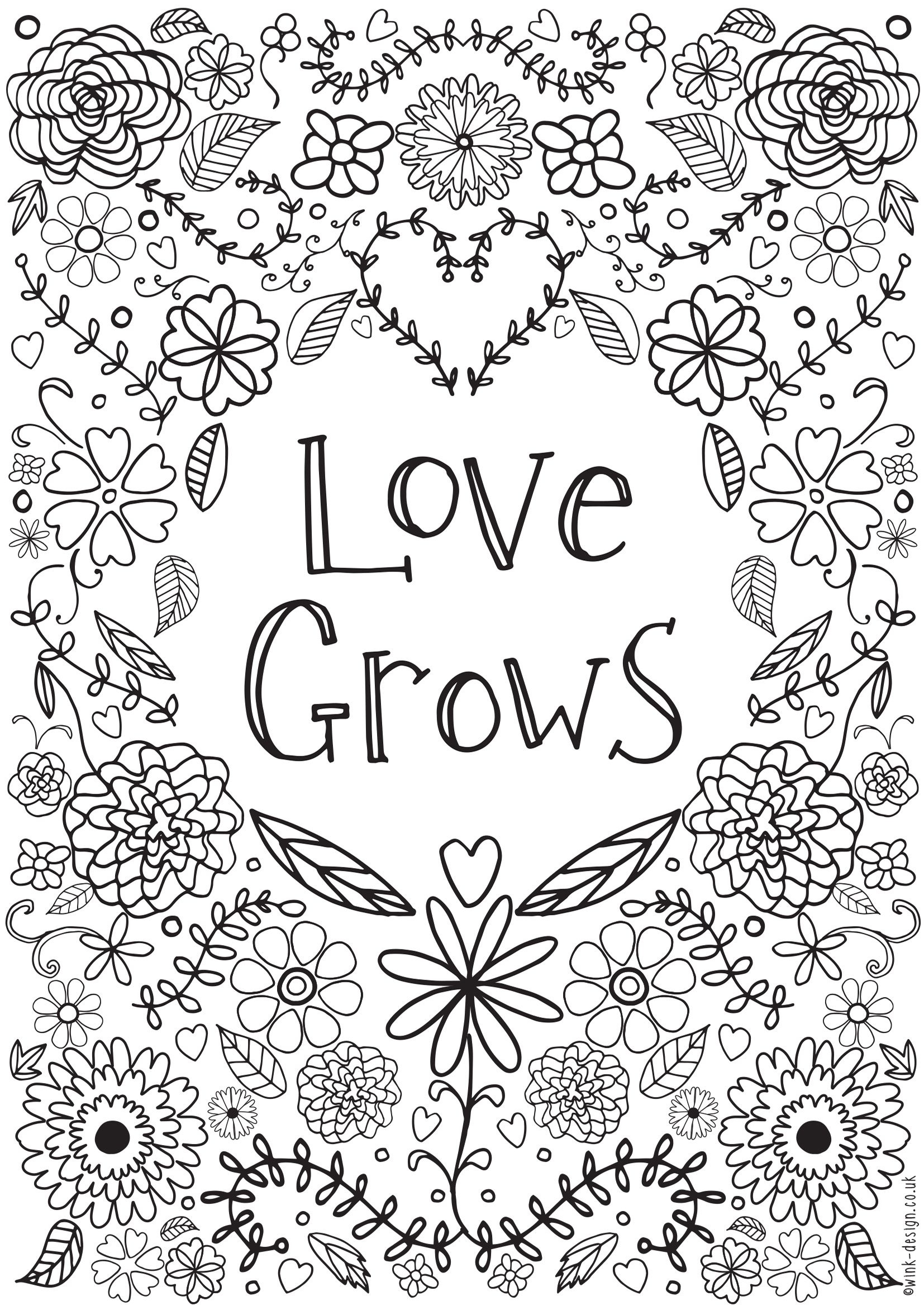 Awesome Free Printable Quote Coloring Pages For Adults | Coloring Pages - Free Printable Inspirational Coloring Pages