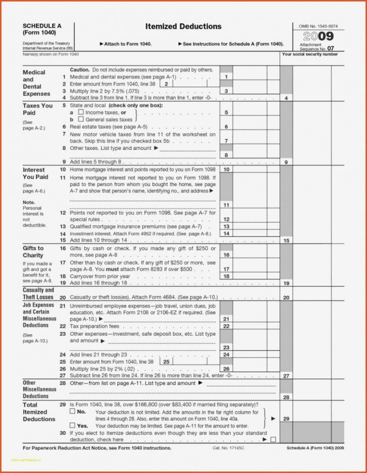 Free Printable Irs 1040 Forms