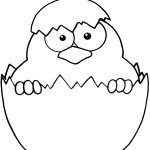 Baby Chicks Coloring Pages | Free Printable Pictures   Free Printable Easter Baby Chick Coloring Pages