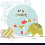 Baby Shower Card Template   Free Printable Baby Shower Cards Templates