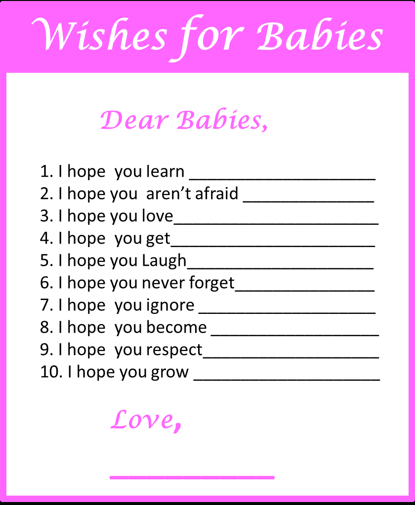 Baby Shower Games For Twins - My Practical Baby Shower Guide - Free Printable Baby Shower Games Word Scramble