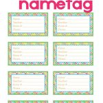 Back To School Backpack Name Tag | Diy Products | School Backpacks   Free Printable Name Tags For Teachers