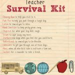 Back To School Teacher Supply Kit   Houston Mommy And Lifestyle   Teacher Survival Kit Free Printable
