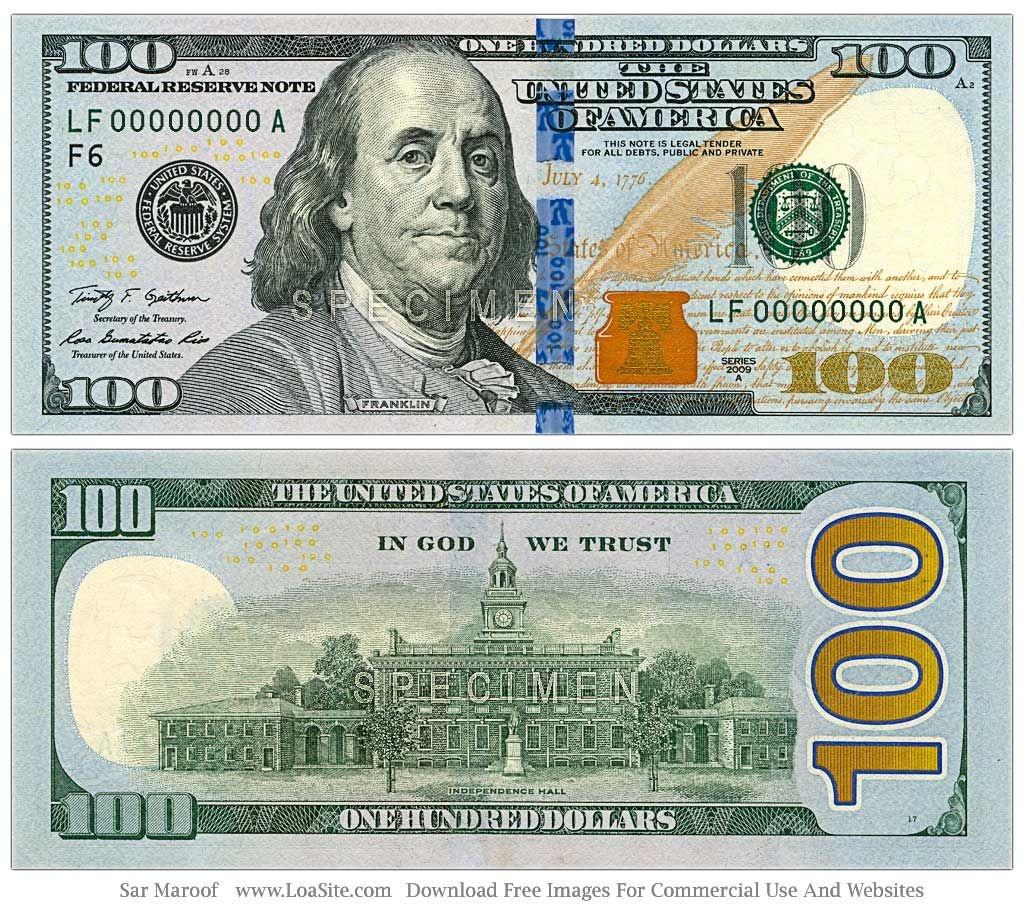 Bad News: Hidden Messages In New $100 Dollar Bill   @vop_Today   100 - Free Printable 100 Dollar Bill