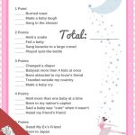 Ballerina Baby Shower Printable Set | Baby Stuff | Ballerina Baby   Free Printable Mickey Mouse Baby Shower Games