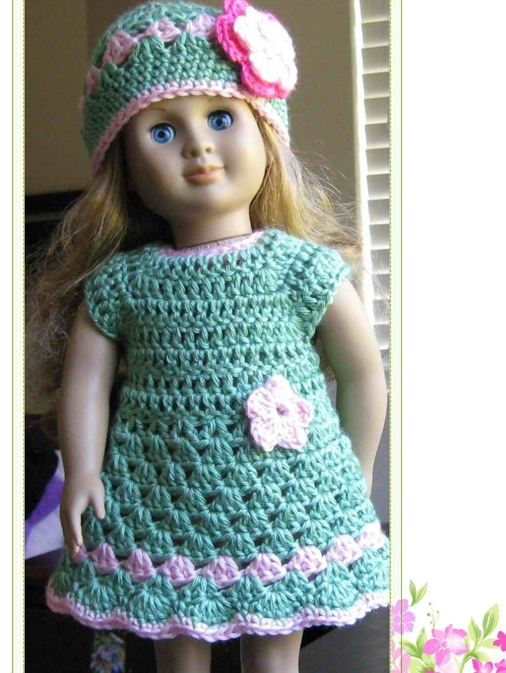 Barbie Doll Clothes Patterns Free | Crochet Patterns: Barbie Doll - Free Printable Crochet Doll Clothes Patterns For 18 Inch Dolls