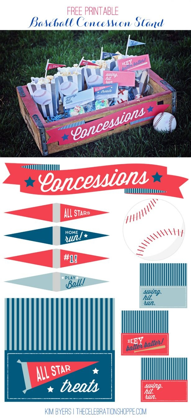 Free Concessions Printable