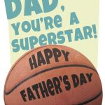 Basketball   Father's Day Card (Free) | Greetings Island   Free Printable Basketball Cards