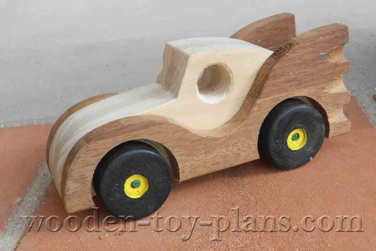 Batmobile Toy Car Plans Build Your Home Made Toy. Full Size Templates. - Free Wooden Toy Plans Printable