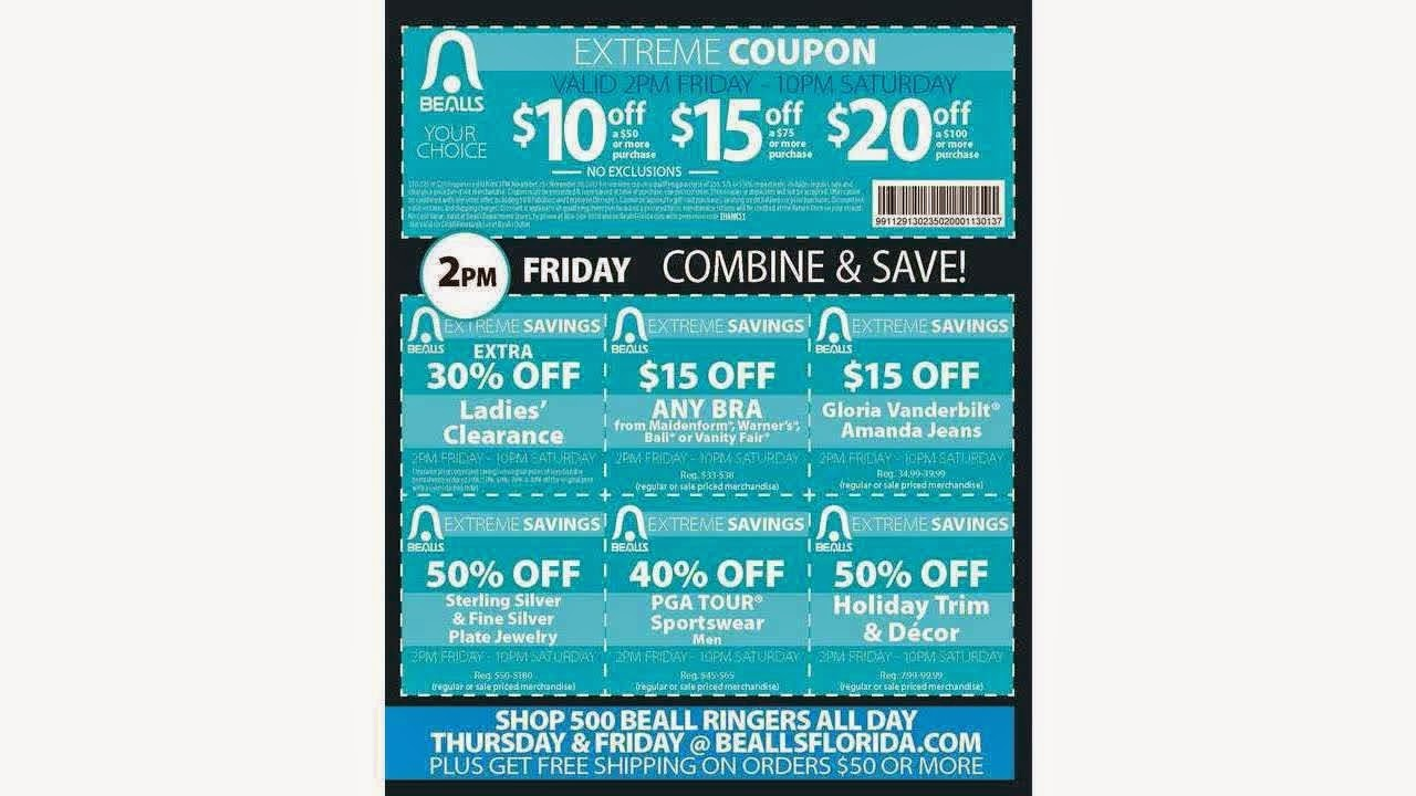 Bealls Coupons May 2018 : Wss Coupons - Free Printable Bealls Florida Coupon