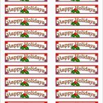 Beautiful Christmas Address Labels Free Templates | Best Of Template   Free Printable Christmas Address Labels Avery 5160