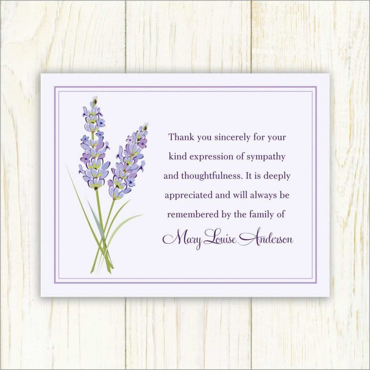 Thank You Sympathy Cards Free Printable