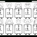 Beginner Subtraction – 10 Kindergarten Subtraction Worksheets / Free   Free Printable Worksheets For Kindergarten