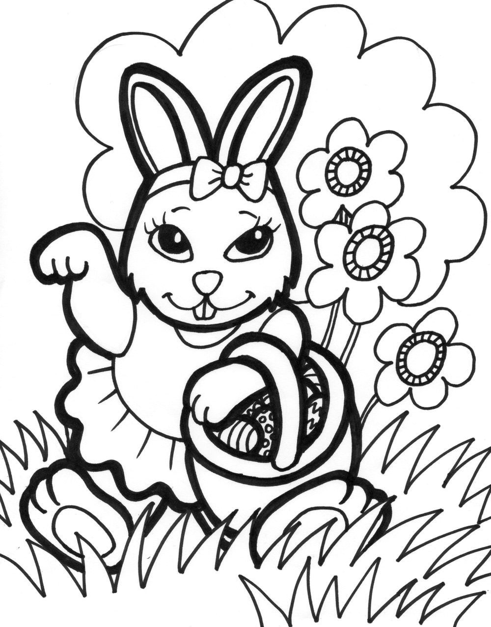 Best 20 Free Easter Coloring Pages To Print - Home Inspiration And - Free Printable Easter Coloring Pictures