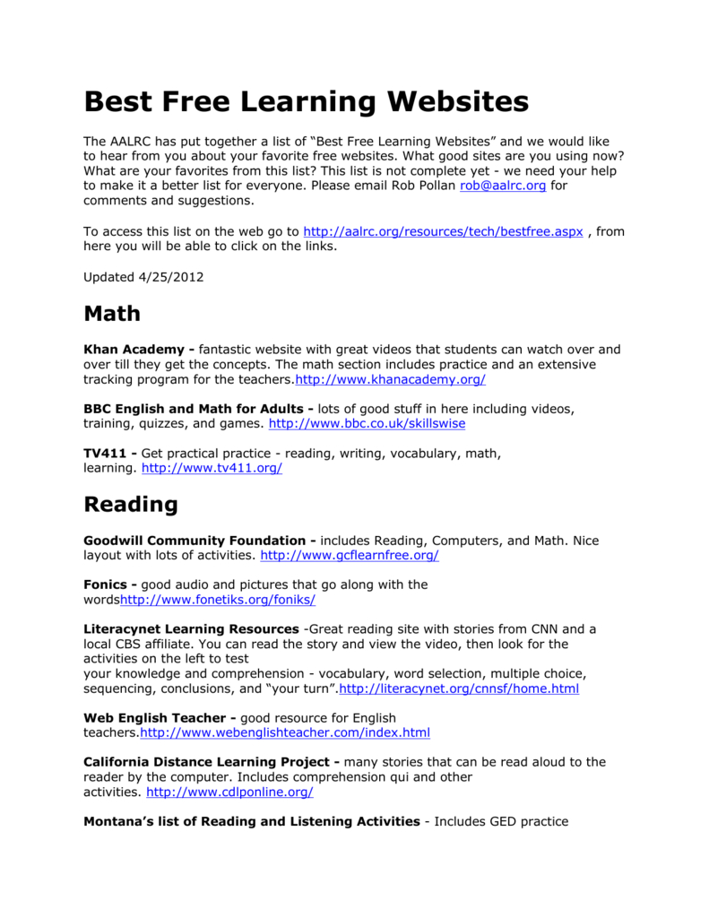 Best-Learning-Websites - Free Printable Ged Flashcards