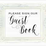 Best Of Please Sign Our Guestbook Free Template | Best Of Template   Please Sign Our Guestbook Free Printable