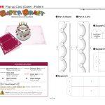 Birthday Cake Pop Up Card Template | Cards | Pop Up Card Templates   Free Printable Birthday Pop Up Card Templates