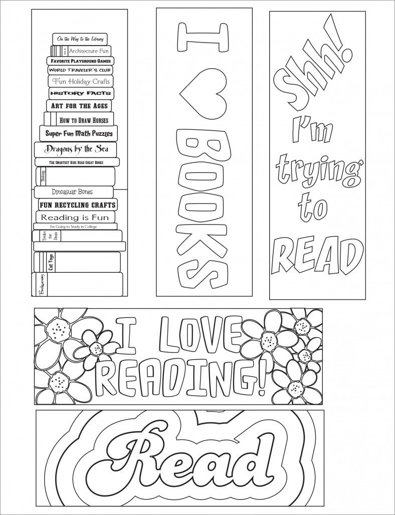 Blank Bookmark Template, Bookmark Template | Bookmarker Ideas - Free Printable Bookmarks For Libraries