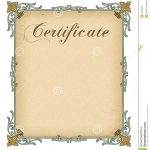 Blank Certificate Template   Tutlin.psstech.co   Commitment Certificate Free Printable