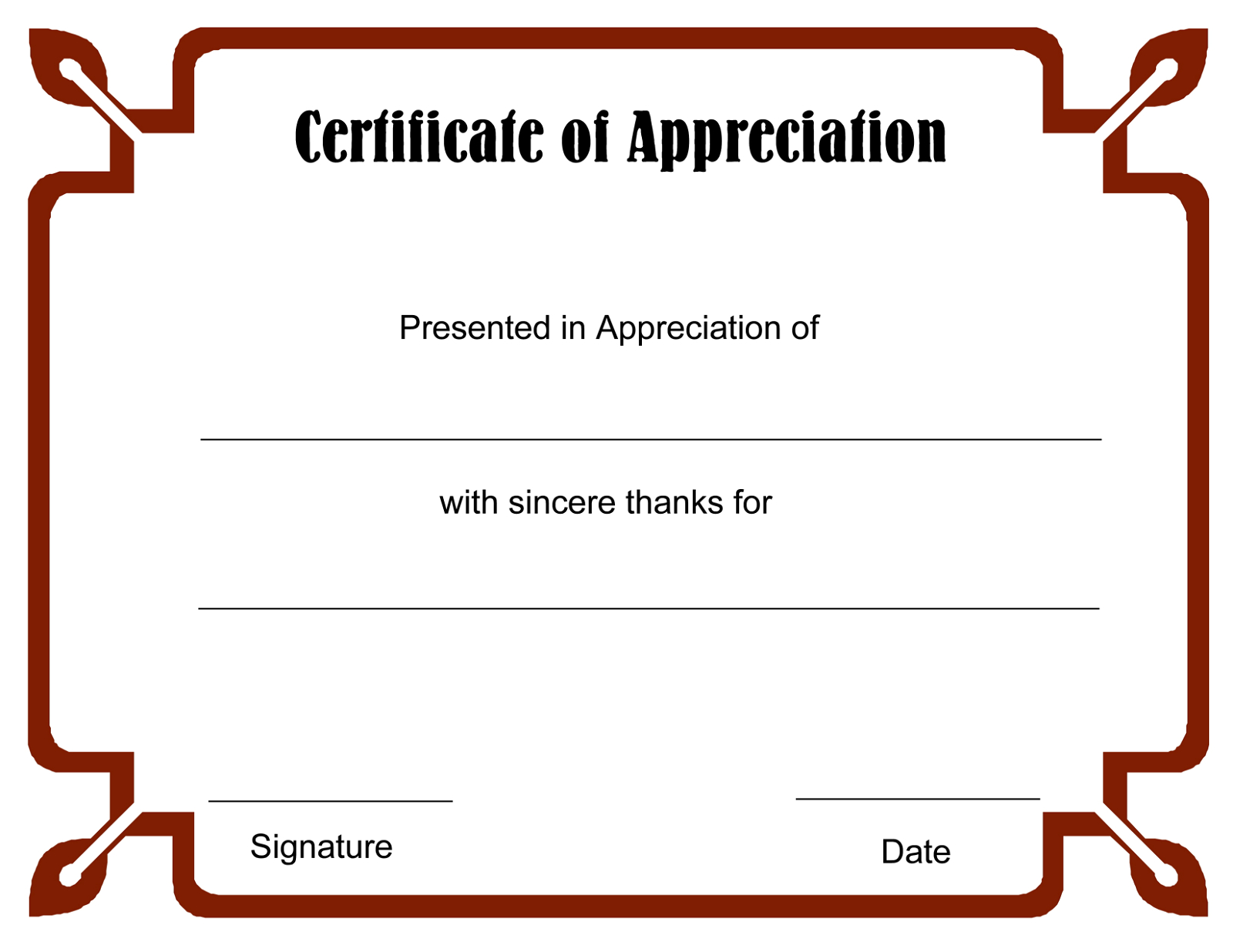Blank Certificate Templates To Print | Blank Certificate Templates - Free Printable Blank Certificate Templates