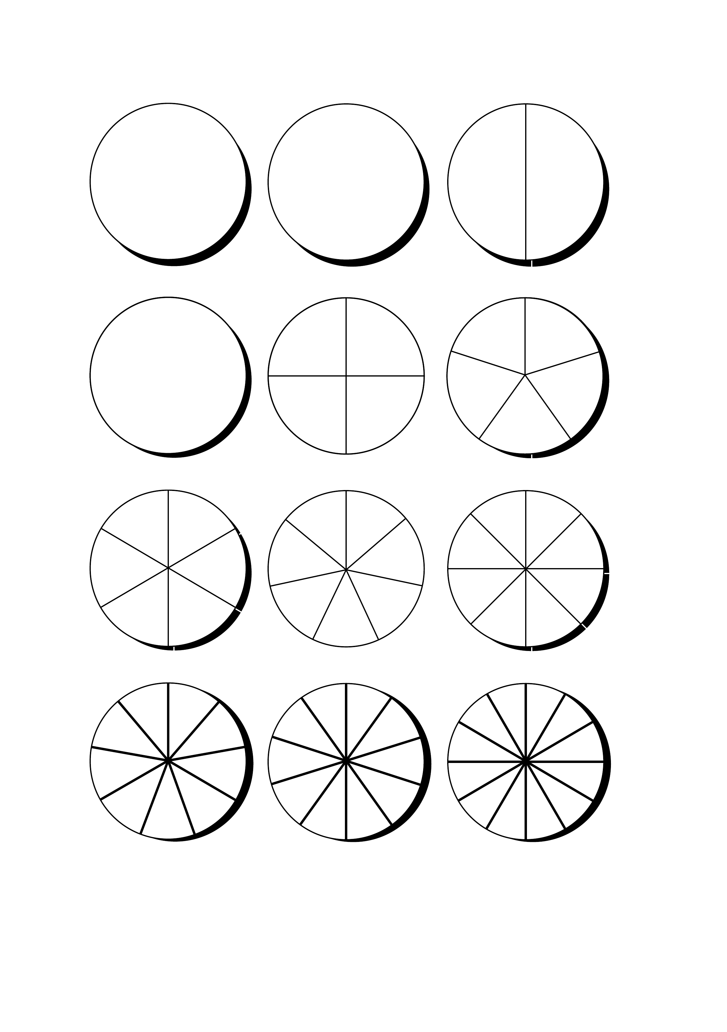 Blank Pie Chart Template Free Download - Free Printable Pie Chart