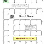 Board Game   Alphabet Race Worksheet   Free Esl Printable Worksheets   Free Printable Alphabet Board Games
