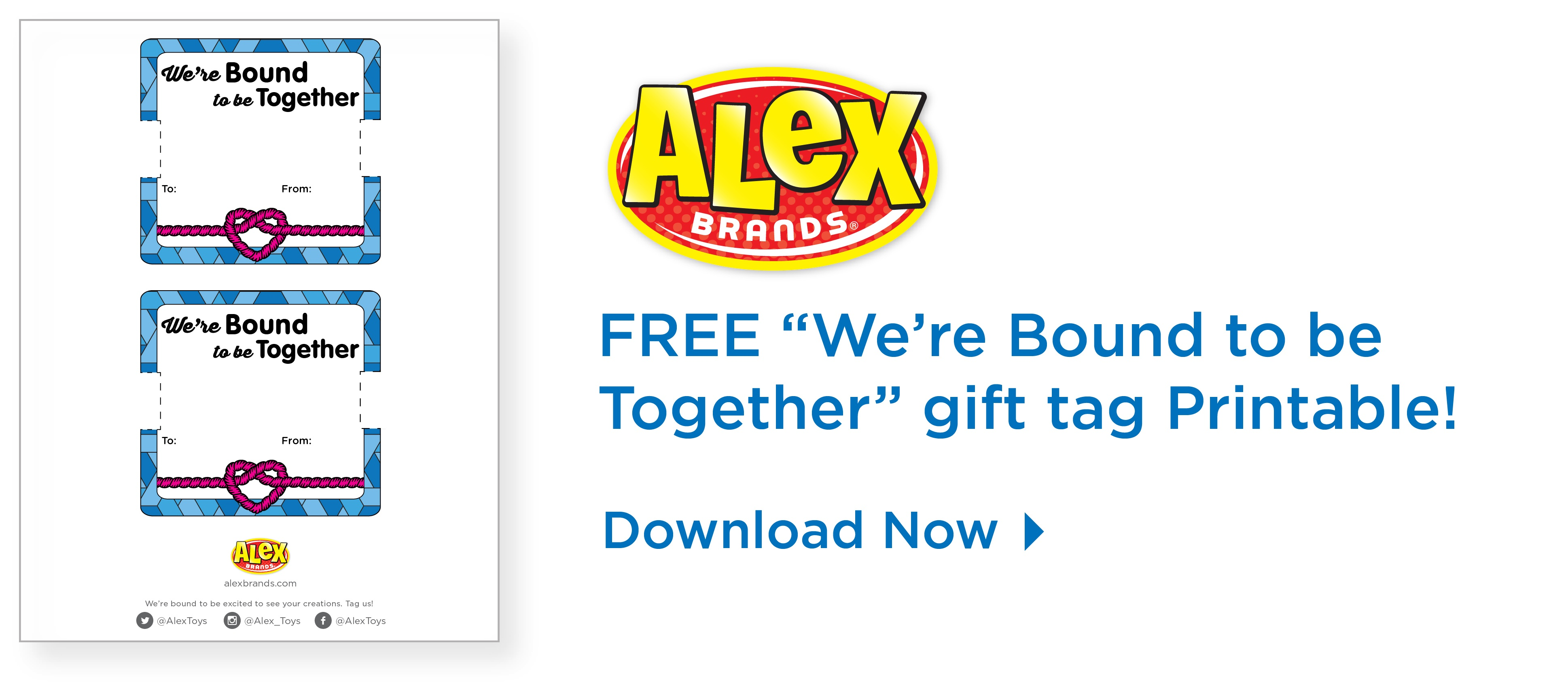 Bound To Be Together Friendship Bracelet Printable Backer Card - Free Printable Friendship Bracelet Patterns
