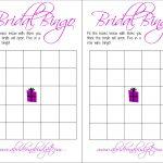 Bridal Bingo (And A Free Printable)   A Bride On A Budget   Free Printable Bridal Shower Blank Bingo Games