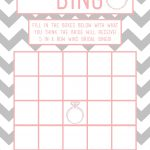 Bridal Shower Bingo Template   Madinbelgrade   Free Printable Bridal Shower Blank Bingo Games