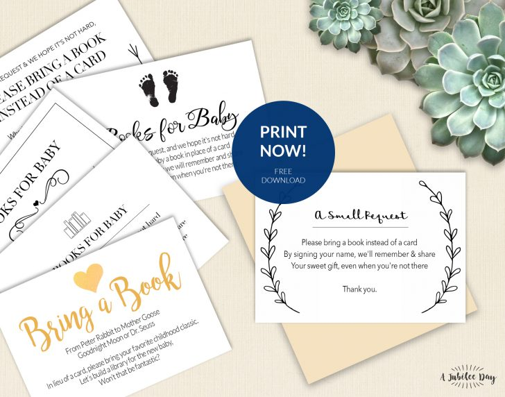 Free Printable Registry Cards