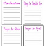 Bunch Ideas For Free Printable Prayer Journal Template On Format   Free Printable Prayer Journal