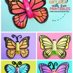 Butterfly Gift With Free Printable.   A Girl And A Glue Gun   Free Printable Butterfly