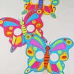 Butterfly Mask Craft With Free Printable Butterfly Template   Messy   Free Printable Butterfly