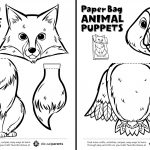 Canadian Animal Paper Bag Puppets | Play | Cbc Parents   Free Printable Paper Bag Puppet Templates