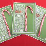 Candy Cane Poem Printable – Deeper Kidmin   Free Printable Candy Cane Poem