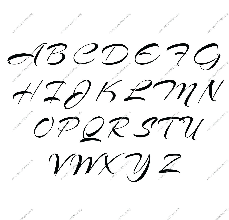 Capital Cursive Alphabets A To Z Free Printable Lowercase Cursive - Free Printable Cursive Alphabet