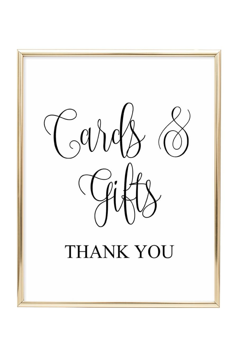 Cards And Gifts Wedding Sign | Diy Wedding | Wedding Signs - Cards Sign Free Printable