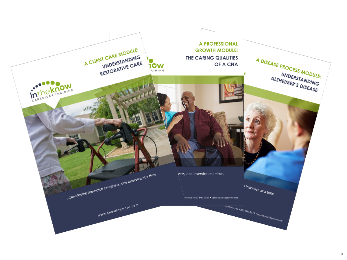 Caregiver Training Solution For Cnas, Hhas, And Nurse Aides - E - Free Printable Inservices For Home Health Aides