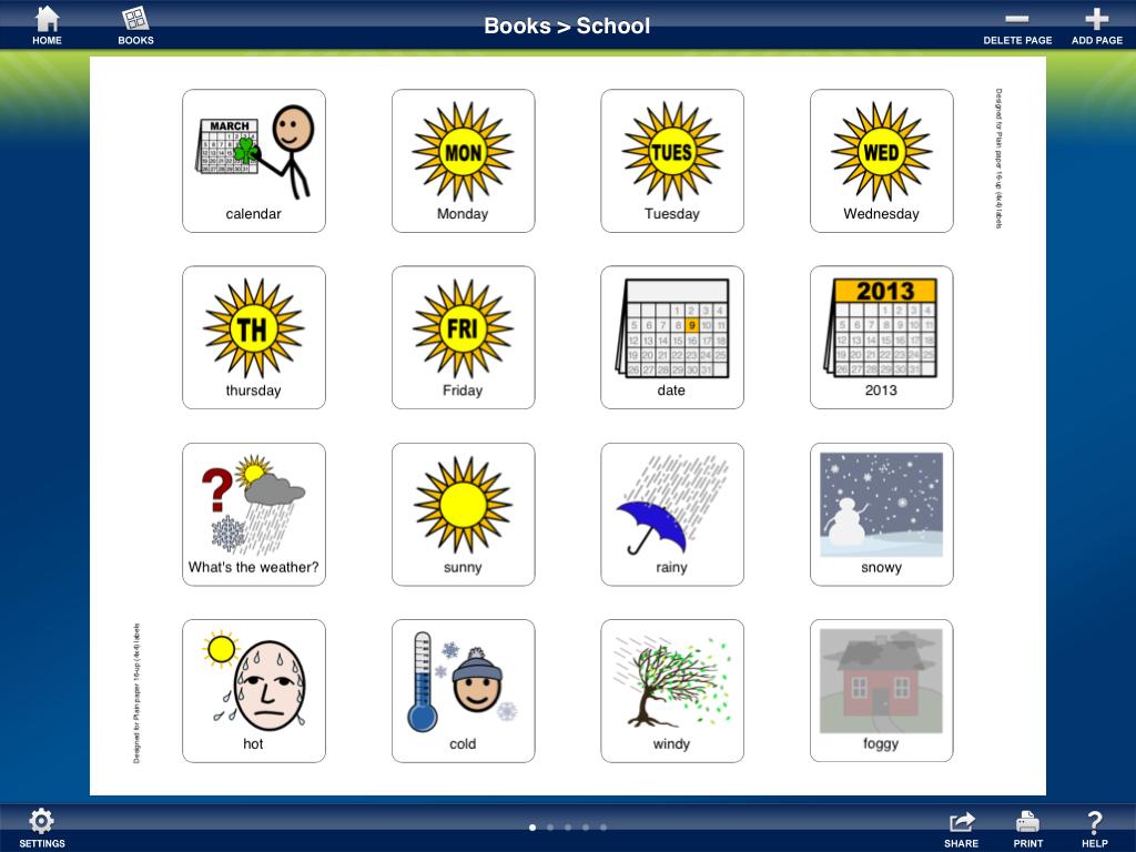 Carrie's Speech Corner: App Review: Proxtalker App Professional Version - Free Printable Widgit Symbols