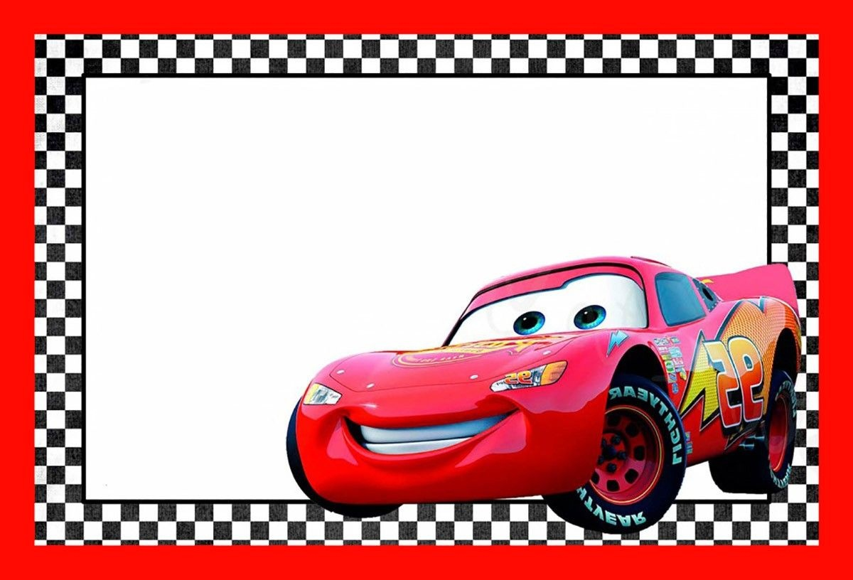Cars Lightning Mcqueen Printable Template | Cars Birthday In 2019 - Free Printable Cars Food Labels