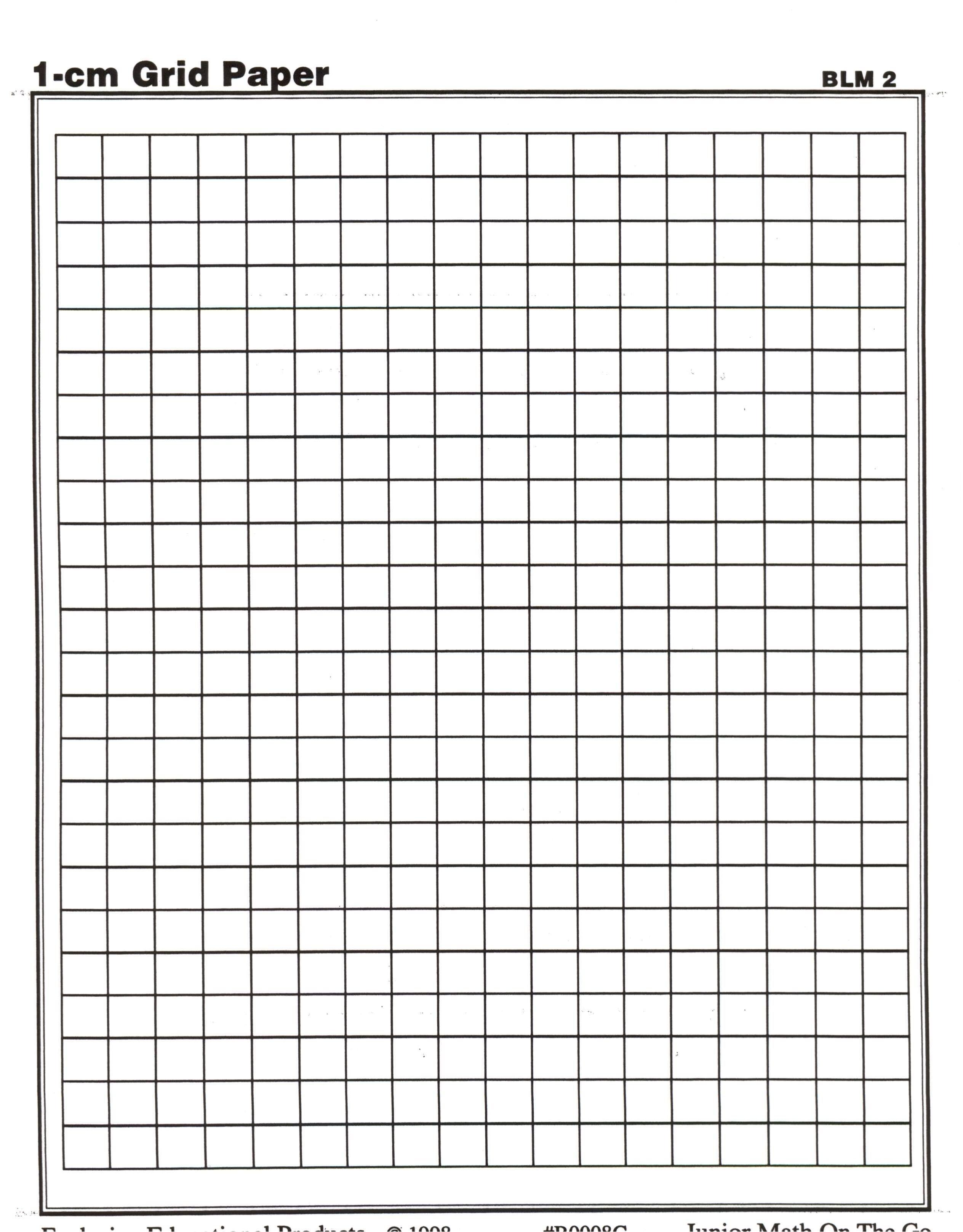 Centimeter Graph Paper | Math Teaching Ideas | Printable Graph Paper - Cm Graph Paper Free Printable