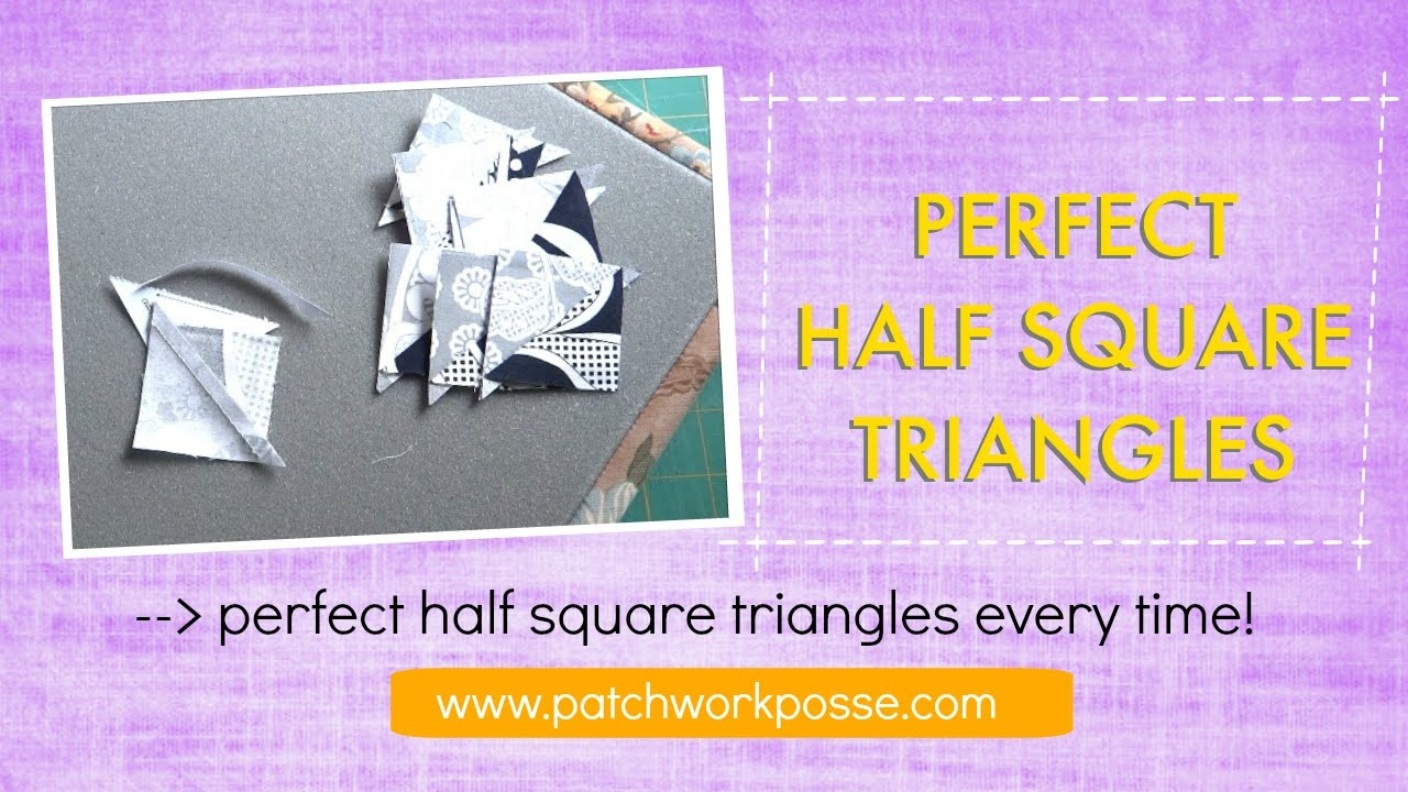 Charm Packs And Half Square Triangles Paper Templates - Printable Thangles Free
